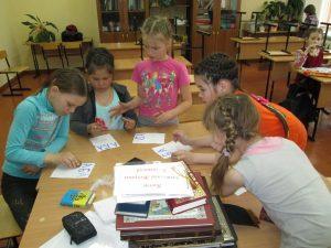 Знакомство с техникой книгопечатания в Чепоше