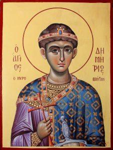 икона Димитрия